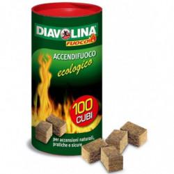 FACCO - Diavolina accendifuoco box 100 pezzi