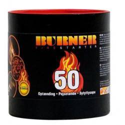 BURNER - Accenditore BIO 50 buste