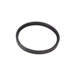 Guarnizione cm 12 di tenuta siliconica 3 labbra per tubi inox