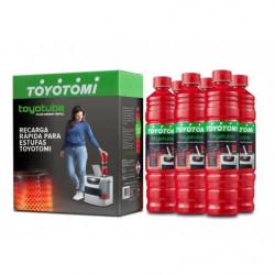 TOYOTOMI Toyotube 6 Taniche LT. 1.4 Combustibile per stufe